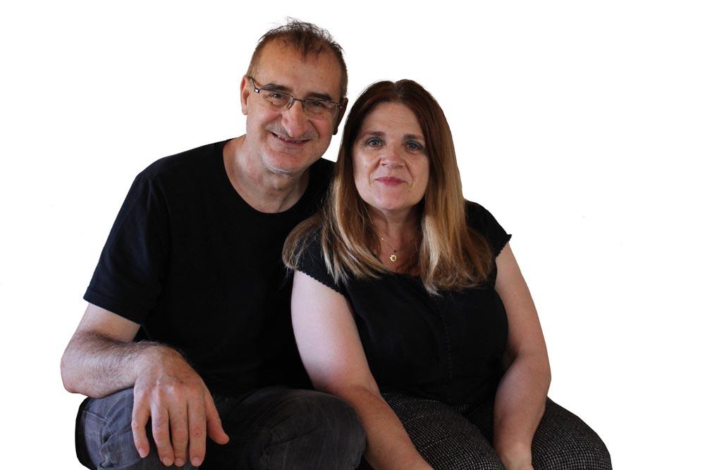 Pilar y Pascual, dueños de El Rincón Solariego