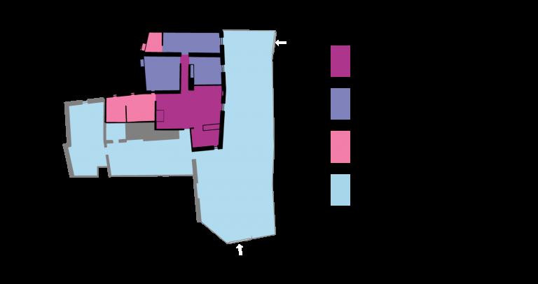 Plano casa rural El Rincón Solariego