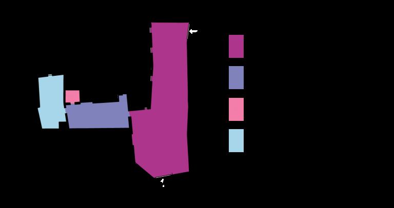 Plano zonas comunes El Rincón Solariego