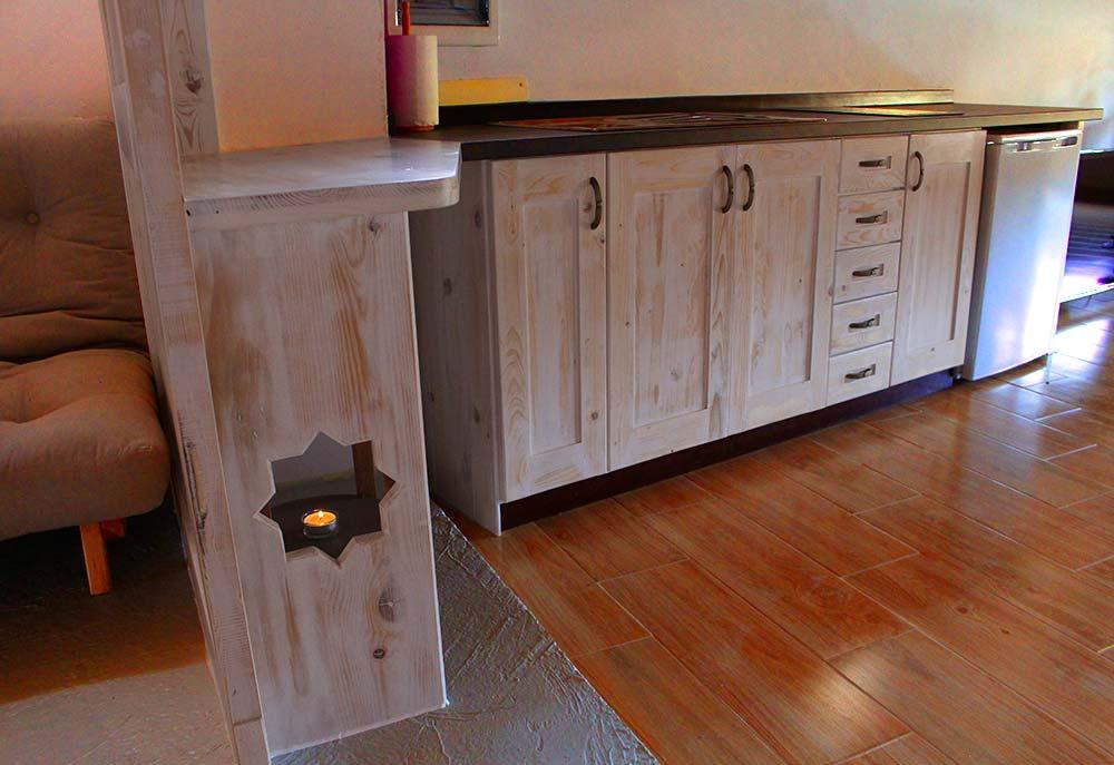 Salón cocina loft El Rincón Solariego 3